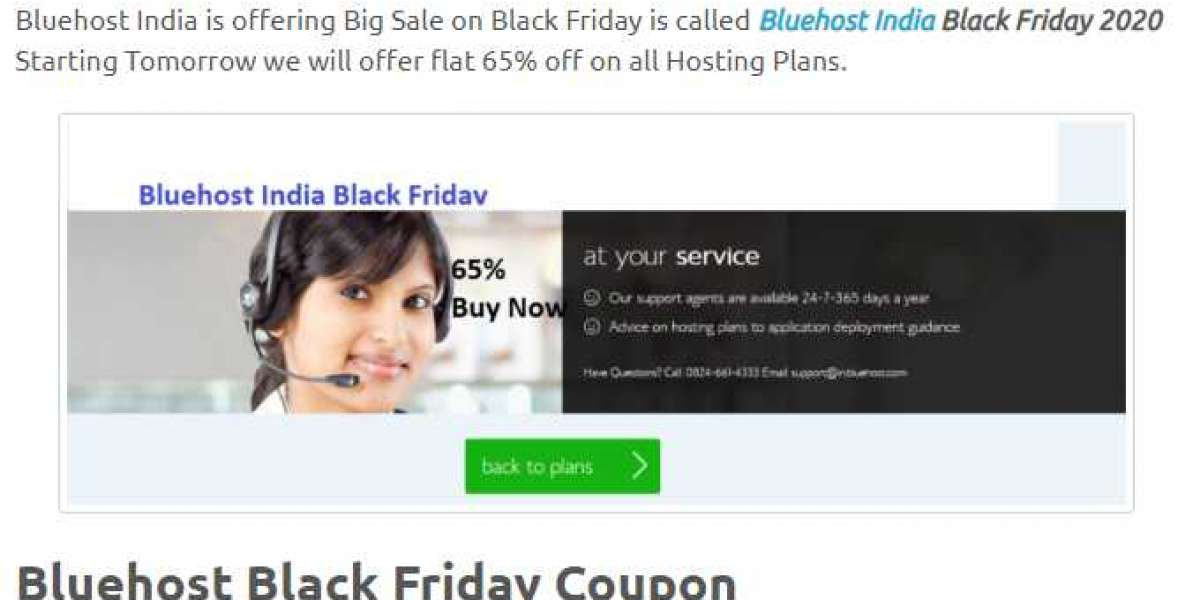 Bluehost black Friday offers