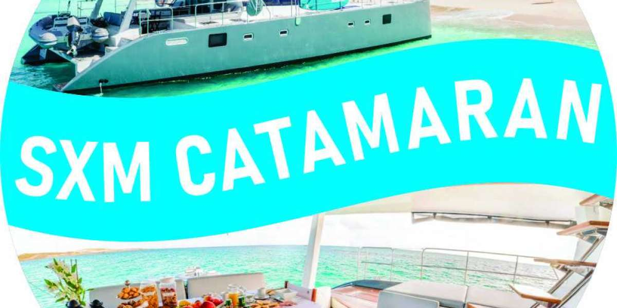 SXM CATAMARAN CHARTER The best way to discover Caribbean Trip