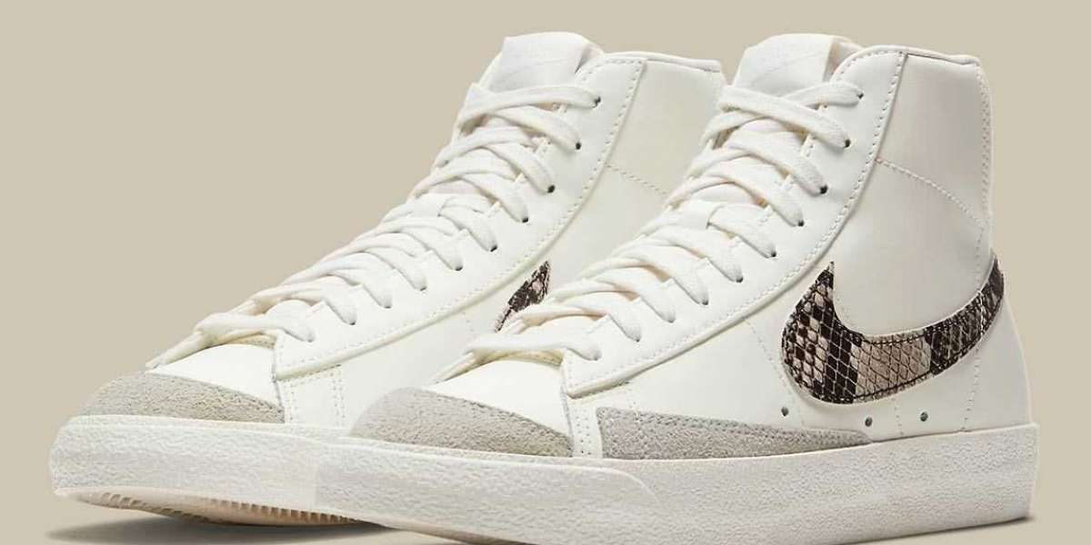 DA8736-100 Nike Blazer Mid '77 Sneakers Coming Soon!