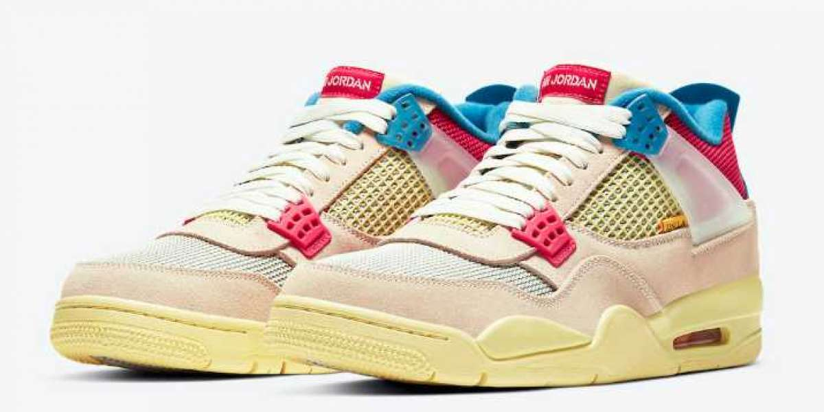 Where To Buy Air Jordan 4 Union Guava Ice Basketball Shoes