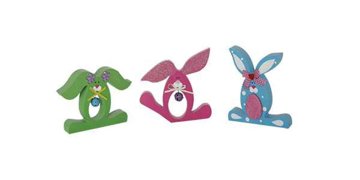 The Materials Of Easter Crafts Finger Puppets